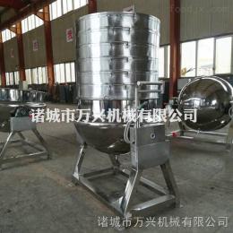 wx-600万兴电加热可倾式夹层锅、红烧肉、酱肘子蒸煮锅