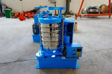 石英砂粒度检测实验室拍击筛已发货