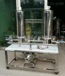 GL双联微孔过滤机 白酒过滤设备 果酒净化器