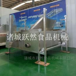 YR-YZG-1500全自动豆泡油炸机鱼豆腐油炸锅燃气油炸设备