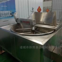 YR-YZG-1200全自动青豆油炸机油炸薯条设备连续油炸锅