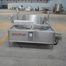 YR-YZG-1200虎皮鸡爪油炸锅自动循环过滤油渣油炸机