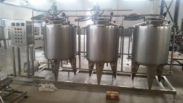 100型200型固体牛奶加工设备  酸奶杀菌机  -沃达斯科