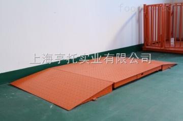 DCS-HT-A1.5*1.5m双斜坡电子地磅 黄冈2吨带打印地秤