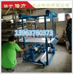 单层半自动鸽场用清粪机-鸽用自动清粪机--13963760373