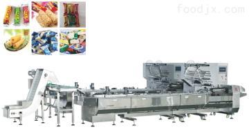 YW-ZL400A2倾斜盘理料枕式包装机