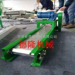 dl-15食品輸送機食品飲料輸送機鏈板傳送帶不銹鋼網帶輸送機