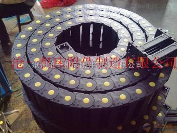 防震动液压管穿线塑料拖链