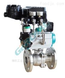 310E电气动高性能调节球阀