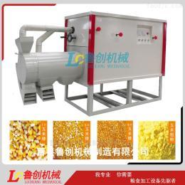 LC-T3东北小型玉米碴子机一键启动玉米加工设备