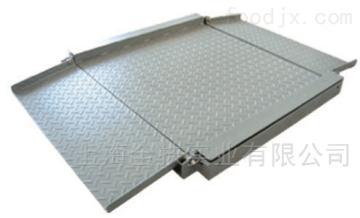 雙層電子平臺秤 2噸不銹鋼電子地磅