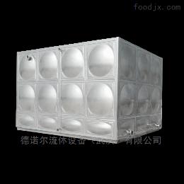 定制不锈钢板生活水箱楼顶水箱定做