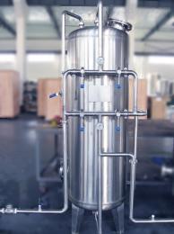SYS不銹鋼管道石英砂過濾器