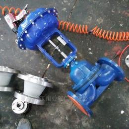 川业电动搪瓷隔膜阀G941C-10 DN40