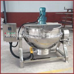 RL-300L电加热可倾斜式夹层锅 全不锈钢化糖蒸煮锅