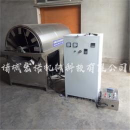HNKJ-200大型電磁加熱炒貨機