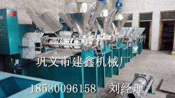 NW-100型启东市花生榨油机必选建鑫机械