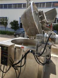 JM-1200专业供应自动进料翻锅控温油炸机