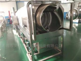 JM-2000不锈钢滚筒式包装袋洗袋机特点