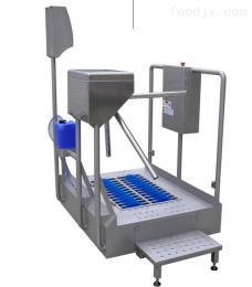 华誉食品厂用智能洗靴 洗手消毒一体清洗机