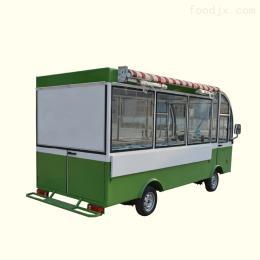 可定制电动美食车保温早餐车结构合理