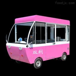 可定制移动保温快餐美食车水果蔬菜车功能多样