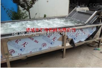 HH汇海机械HH|黄秋葵清洗设备|气泡清洗设备|黄秋葵清洗机