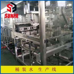 QGF600全自動3-5加侖桶裝水生產線