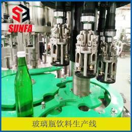 DXGF40-40-12碳酸饮料设备价格  三合一玻璃瓶灌装机