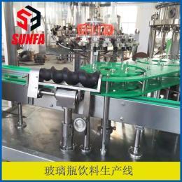 DXGF18-18-6全自动玻璃瓶含气饮料灌装设备
