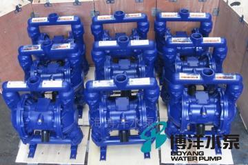 QBY型QBY型工博铸铁气动隔膜泵