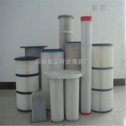 350*600/350*660河北集尘机除尘滤芯 集尘器粉尘滤筒工业-玉轩过滤