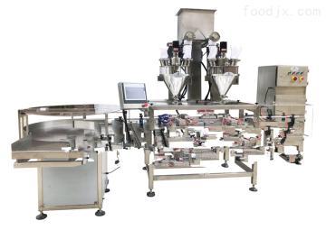 双工位直线式粉剂罐装机