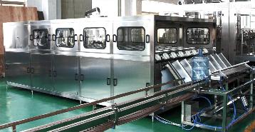 全自動三加侖桶裝飲用水生產線