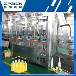 DCGF18-18-6碳酸饮料可乐灌装机兆恒特供 zui新碳酸饮料灌装机商家热销