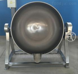 100L食堂用电加热不锈钢蒸煮炒菜夹层锅