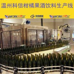 kx-2000新型璃瓶装柑橘果酒生产流水线设备价格|整套桔子酒过滤设备厂家