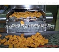 鱿鱼圈油炸机、油炸生产线