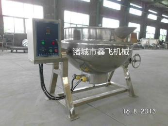 蒸汽夹层锅厂家  电加热可倾夹层锅厂家