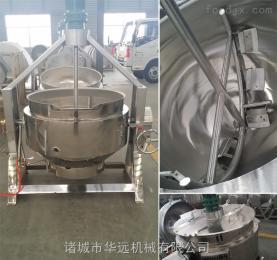 专业供应燃气搅拌炒锅 燃气夹层锅用途