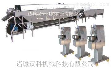 WLX-6普通丸子成型蒸煮生产线