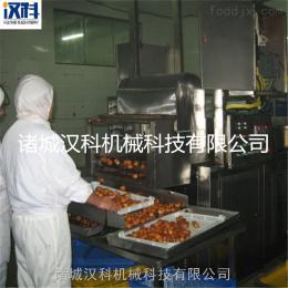 XH-6000油炸生产线 休闲食品油炸生产线 水产品油炸生产线