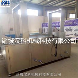 XH-8000猫耳朵油炸生产线 好多鱼油炸生产线