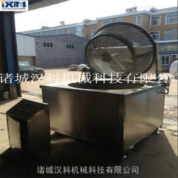 HKD-1000诸城电加热全自动油炸锅