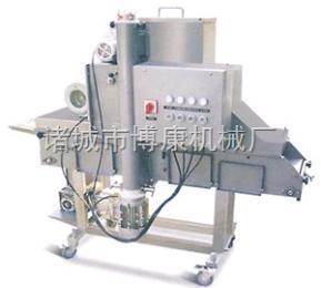 生產供應博康牌小型雞排粘粉機、全自動裹漿機、裹粉機