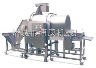 裹粉、粘粉設備生產供應調味雞塊粘粉機、滾筒上粉機