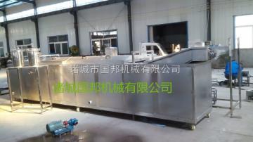 GB-1000不锈钢速冻薯条油炸生产线