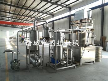 GB-700型不锈钢果蔬脆片油炸生产线