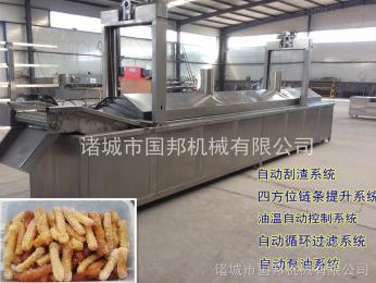 GB-5000香辣江米条油炸机 江米条油炸生产线 全自动油炸生产线