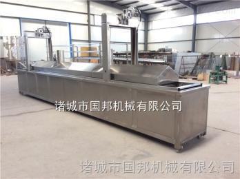 GB-4000厂家直销麻花电加热油炸机 全自动油炸流水线 油炸机生产基地